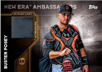 Topps New Era Buster Posey