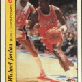 Michael Jordan rookie Fleer sticker