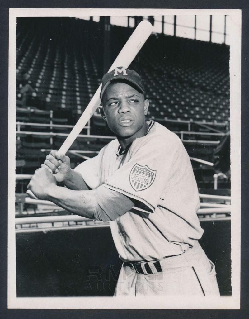 Willie Mays 1951 photo Minneapolis Millers