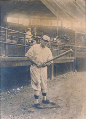 Red Sox Babe Ruth photo