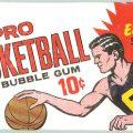 1969 Topps basketball pack
