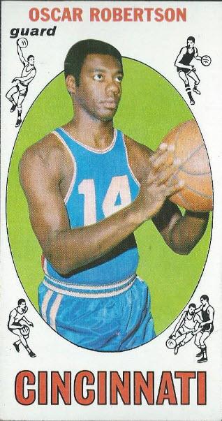 Oscar Robertson 1969-70 Topps basketball card