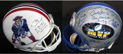 signed helmets