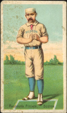 Hoss Radbourn baseball card Buchner Gold Coin
