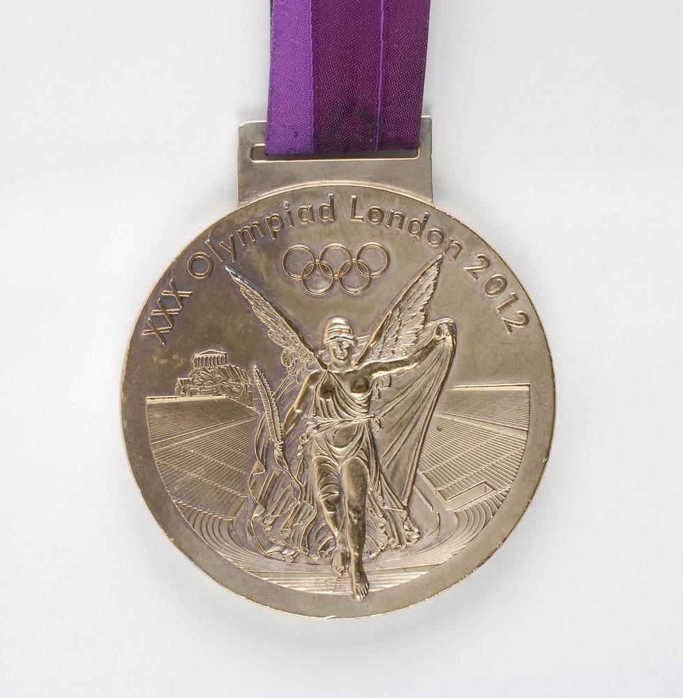 Summer Olympics 2012 London Gold Medal