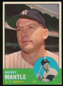 1963 Topps Mantle