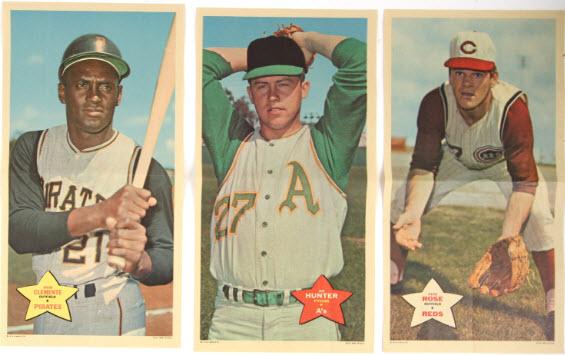 Topps 1968 Baseball Posters
