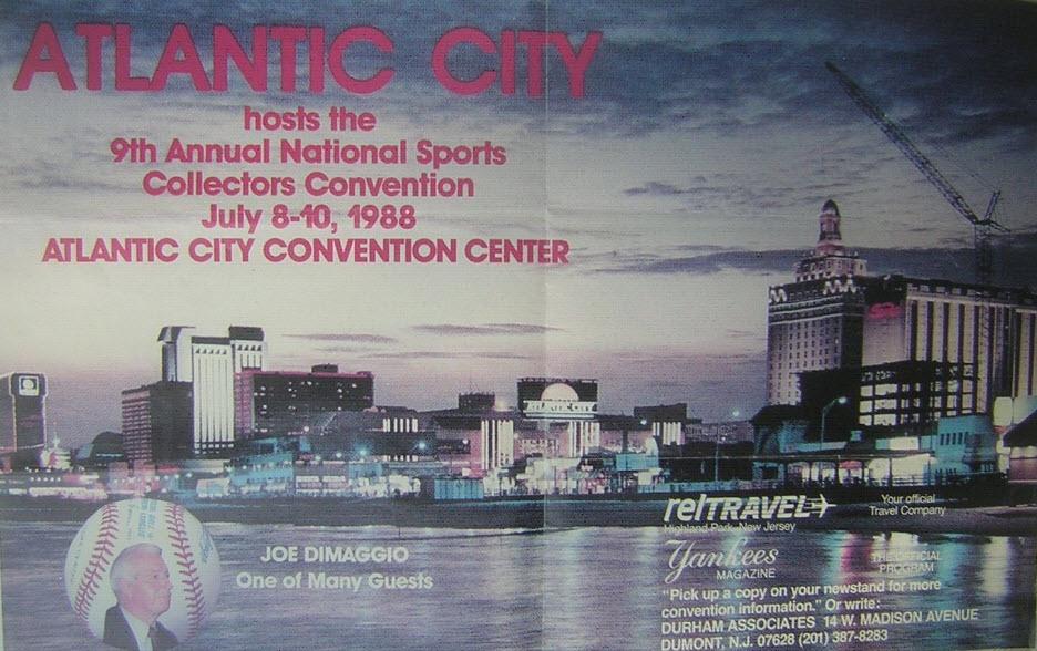 1988 Atlantic City promo booklet