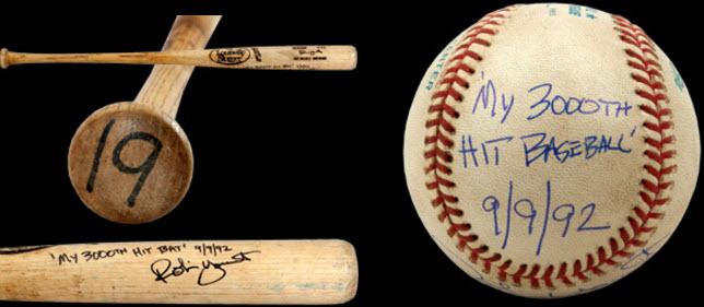 Robin Yount 3000 hit ball