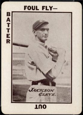 Joe Jackson 1913 Tom Barker