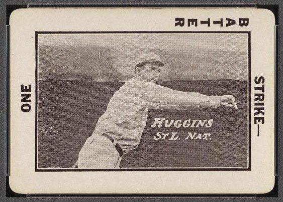 Tom Barker 1913 National Game