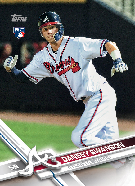 Dansby Swanson Topps rookie card