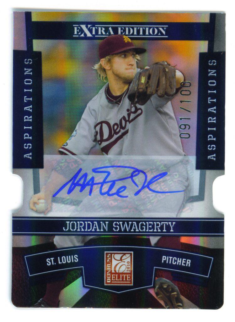 Jordan Swagerty error card.
