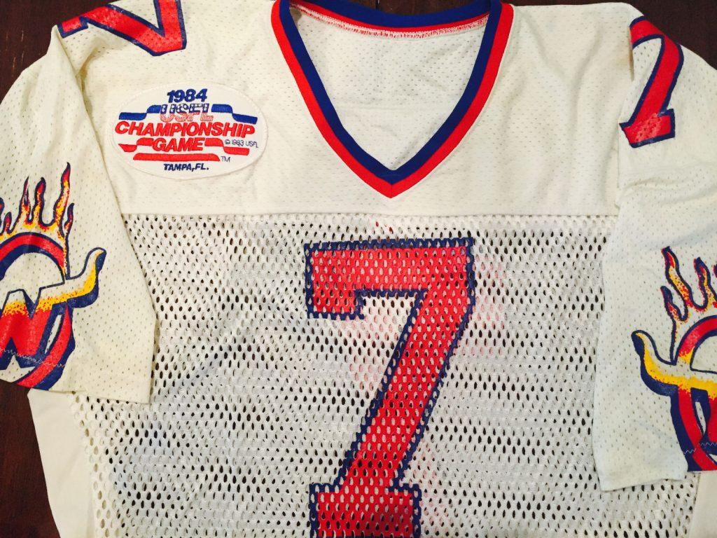 Arizona Wranglers jersey 2013 USFL Alan Risher