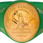 WBC Championship belt Muhammad Ali