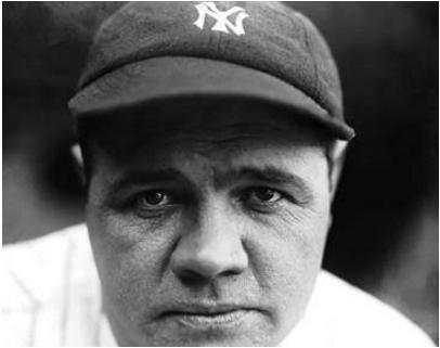 Charles Conlon Babe Ruth photo