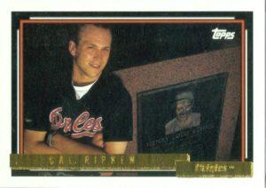 Cal Ripken Topps Gold 1992