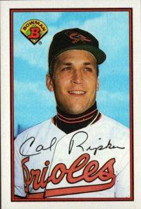 Cal Ripken 1989 Bowman