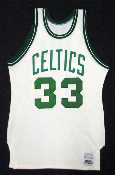 Game worn 1979-80 Larry Bird Celtics jersey