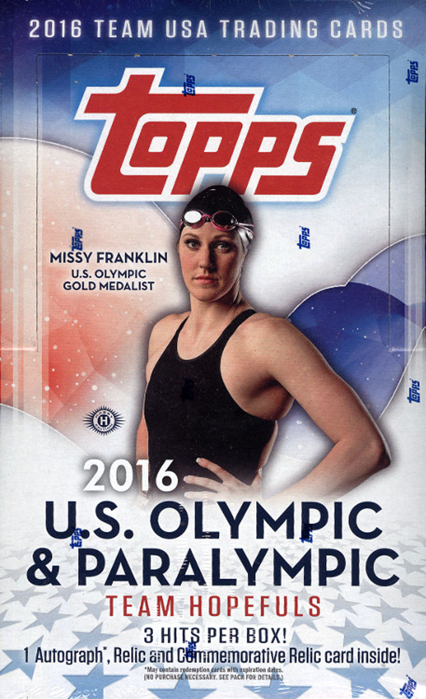2016 Topps Olympic hobby box