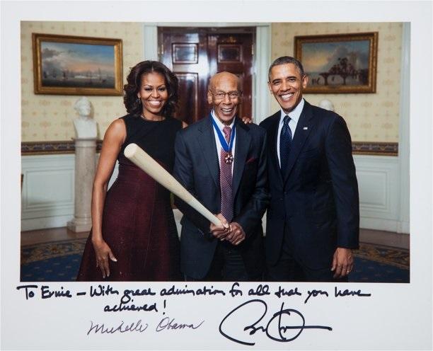 ErnieBanks_Obama_photos