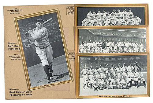 1933 Goudey R309-1 set