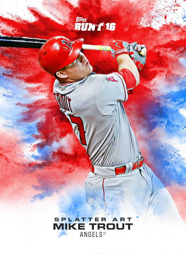 Mike Trout 2016 Topps Crossover