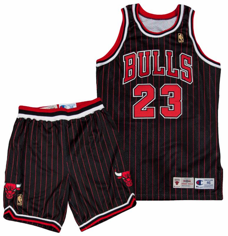 Michael Jordan game worn uniform 1996-97