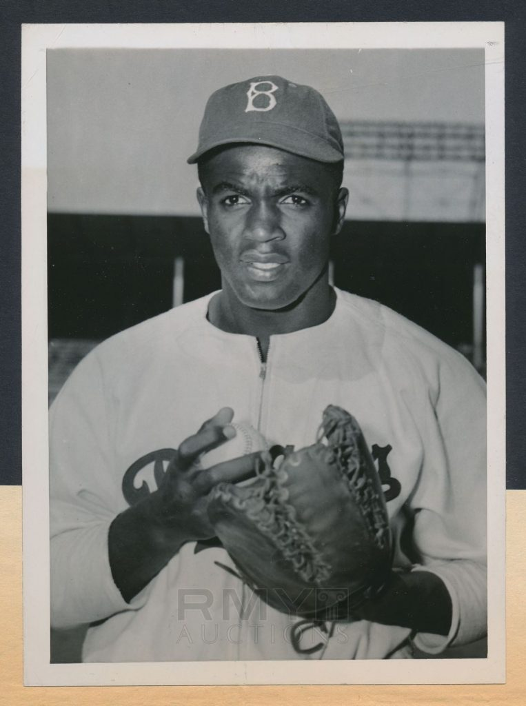 Jackie Robinson 1947 photo