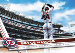 Bryce Harper 2017 Topps Baseball card