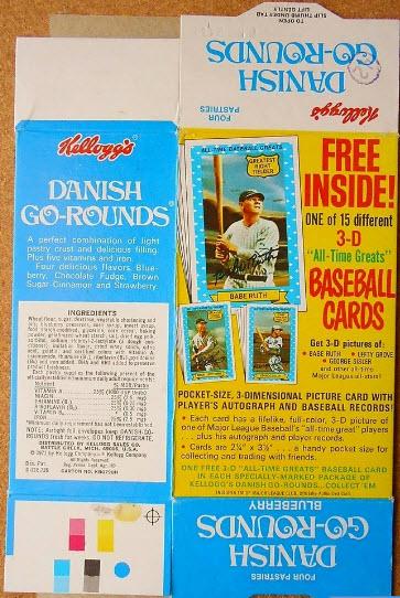 Danish Go Rounds Baseball Card Offer
