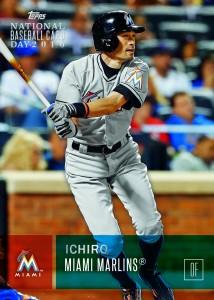 Ichiro 2016 National Baseball Card Day