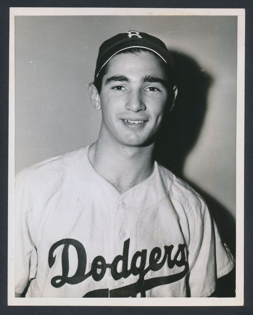 Sandy Koufax 1955 photo