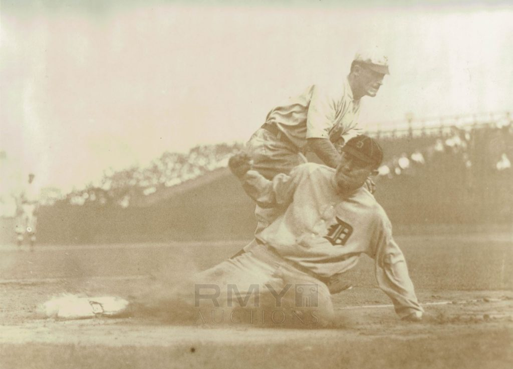 Ty Cobb oversized photo