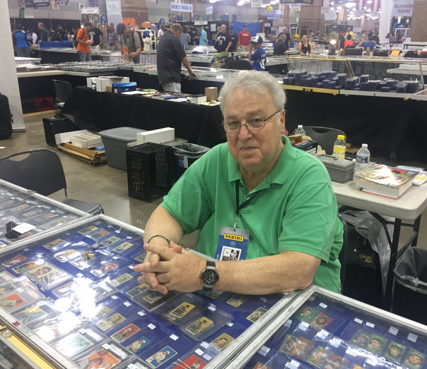 Baseball card dealer John Goodman