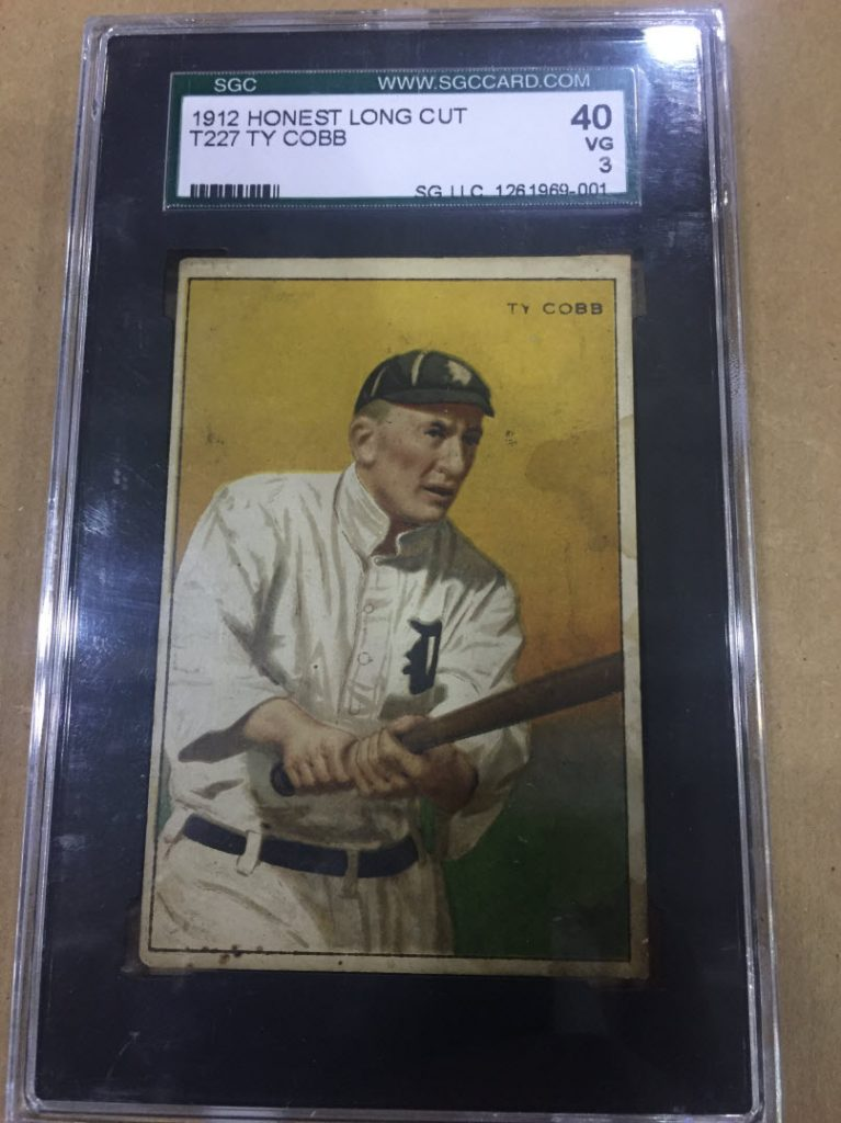 Ty Cobb Honest Long Cut