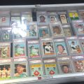 vintage baseball cards case Mickey Mantle