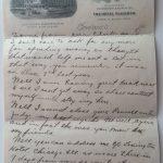 1907 Ty Cobb letter