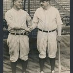 1927 photo Lou Gehrig Babe Ruth