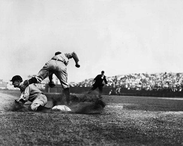 Charles Conlon Ty Cobb photograph