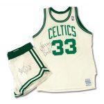 1986-87 Larry Bird signed uniform