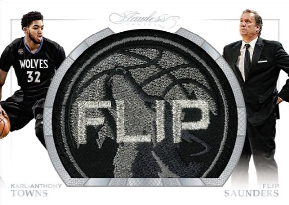 2015-16 Flawless Flip Sauders card