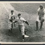 Lou Gehrig 1937 World Series home run photo