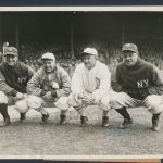 Lou Gehrig Tris Speaker Ty Cobb Babe Ruth photo 1928
