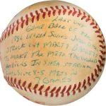 Last out baseball 1986 World Series