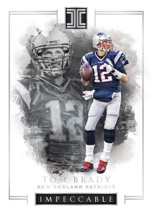 Panini Impeccable Tom Brady