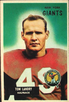 Tom Landry 1955 Bowman