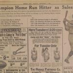 Babe Ruth scrapbook