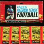 Topps 1963 football box-packs