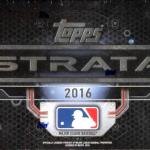 Topps Strata 2016 box